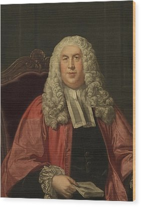 Sir William Blackstone 1723-1780 Wood Print by Everett