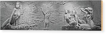 Wood Print featuring the photograph Sirens by Kristin Elmquist