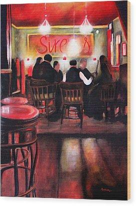 Sirens Pub Wood Print