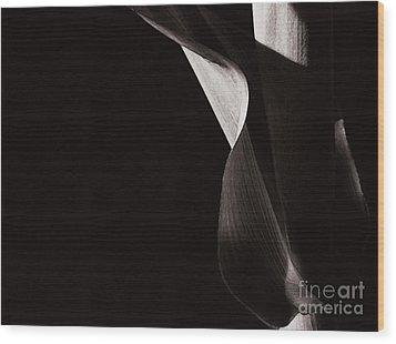 Sister Corn Wood Print by Linda Shafer