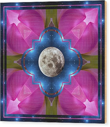 Sister Moon Wood Print by Bell And Todd