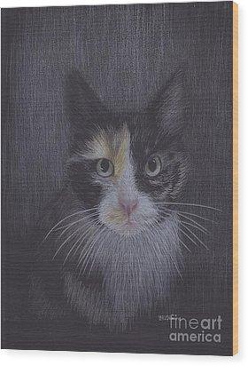 Six Wood Print
