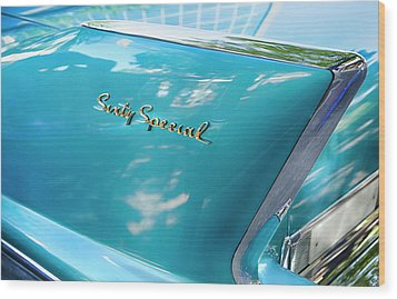 Wood Print featuring the photograph Sixty Special Cadillac by Theresa Tahara