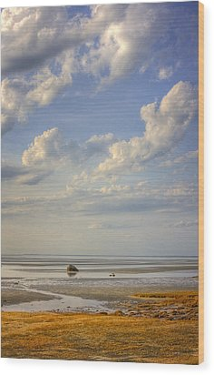 Skaket Beach Cape Cod Wood Print