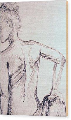 Sketch Class 2 Wood Print