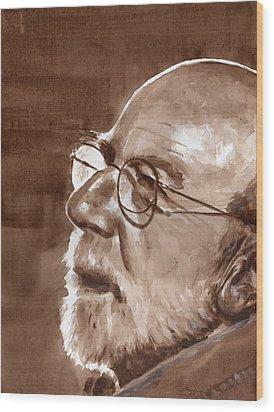 Sketch Of Bill Wood Print