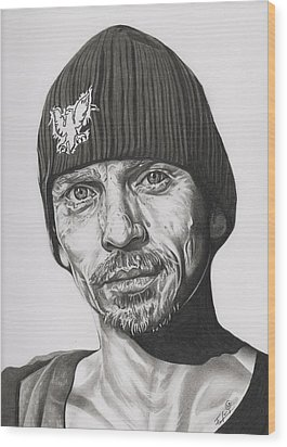 Skinny Pete  Breaking Bad Wood Print by Fred Larucci