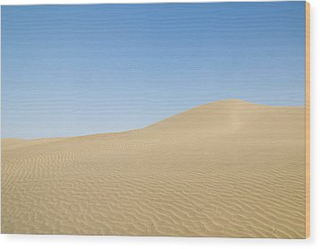 Skn 1412 Ripples On The Slope Wood Print