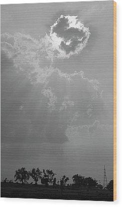 Skn 2170 Blessings Showered Wood Print