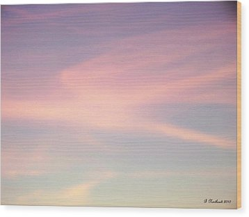 Wood Print featuring the photograph Sky Dancer by Betty Northcutt