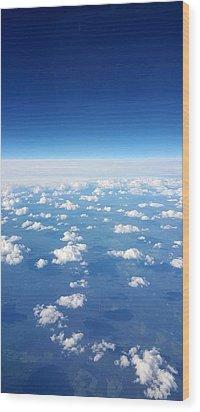 Sky Life Wood Print