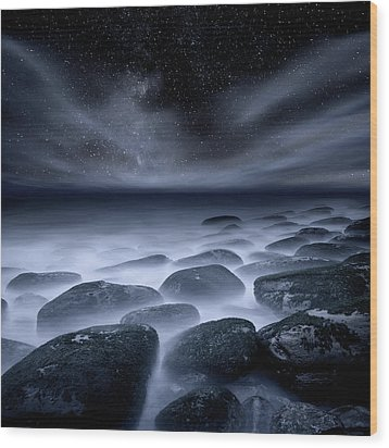 Wood Print featuring the photograph Sky Spirits by Jorge Maia