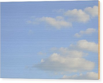 Wood Print featuring the photograph Sky by Wanda Krack