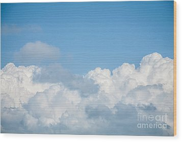 Wood Print featuring the photograph Skyscape by Jan Bickerton