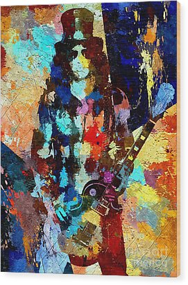 Slash Grunge Wood Print