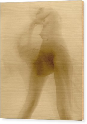 Wood Print featuring the photograph Sleep Walker 2 Variation by Joe Kozlowski