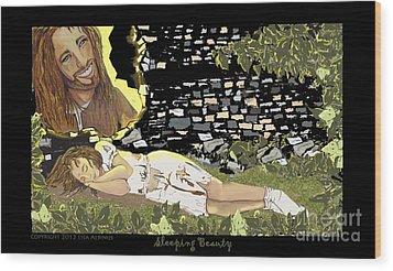 Sleeping Beauty Wood Print by Lisa  Albinus