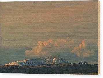 Wood Print featuring the photograph Sleeping Giant Near Helena Montana by Kae Cheatham