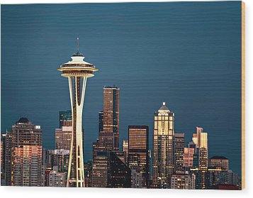 Wood Print featuring the photograph Sleepless In Seattle by Eduard Moldoveanu