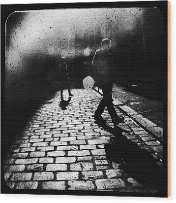 Sleepwalking Wood Print by Andrew Paranavitana