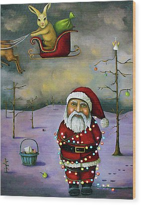 Sleigh Jacker Wood Print