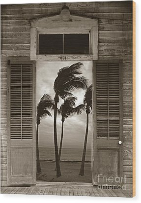 Wood Print featuring the photograph Slip Away To Paradise by John Stephens