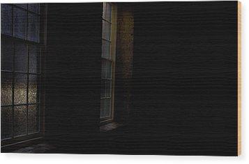 Slit Scan 4 Wood Print by Patrick Biestman