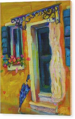 Sliver Of Sunshine Wood Print