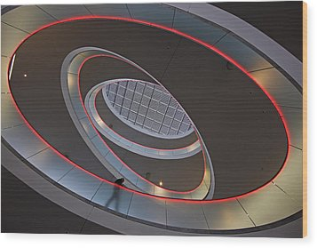 Sma Solar Technology Is Partially Wood Print by Michael Melford