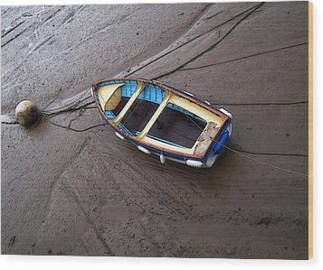 Small Boat Wood Print by Svetlana Sewell