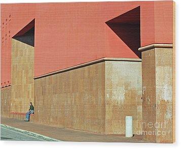 Wood Print featuring the photograph Small World by Joe Jake Pratt
