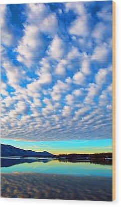 Sml Sunrise Wood Print by The American Shutterbug Society