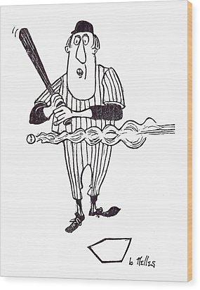 Smoke Wood Print by Barry Nelles Art