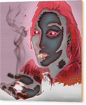 Smoke Wood Print
