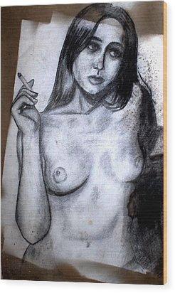 Smoker Wood Print
