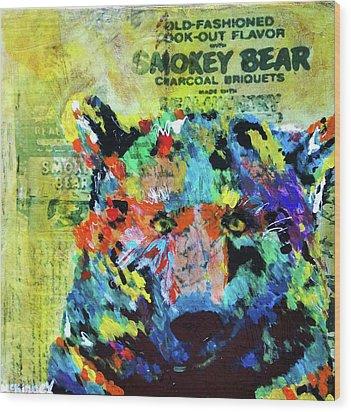 Smokey Bear Wood Print