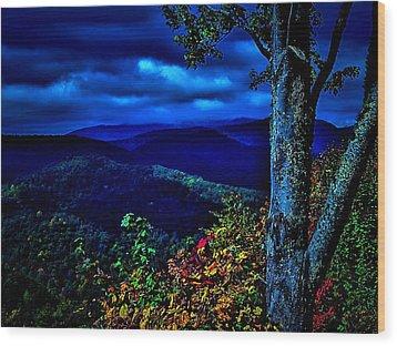 Smokey Mountain Still Life Wood Print by William Jones