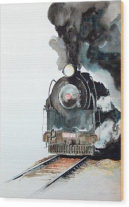 Smokin Wood Print by Greg Clibon