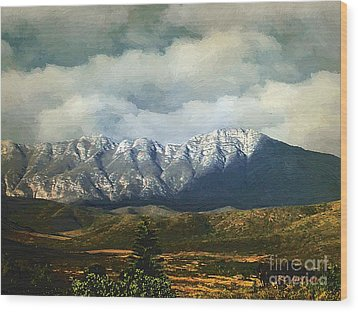 Smoky Clouds On A Thursday Wood Print by RC deWinter