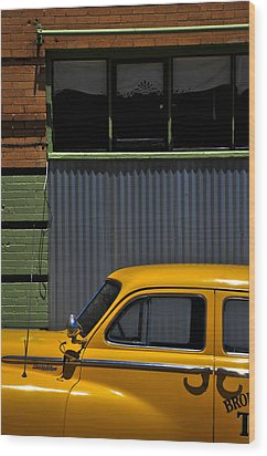 Smooth Operator Wood Print by Skip Hunt