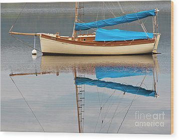 Wood Print featuring the photograph Smooth Sailing by Werner Padarin
