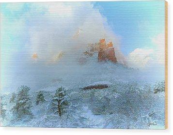 Snow 07-104 Wood Print