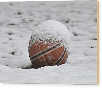 Snow Ball Wood Print by Al Powell Photography USA
