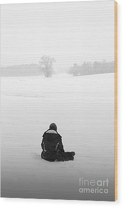 Wood Print featuring the photograph Snow Wonder by Brian Jones