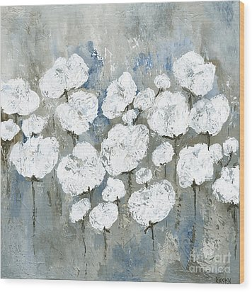 Snowy Mississippi Summer Wood Print by Kirsten Reed