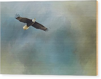Wood Print featuring the photograph Soaring by Rebecca Cozart