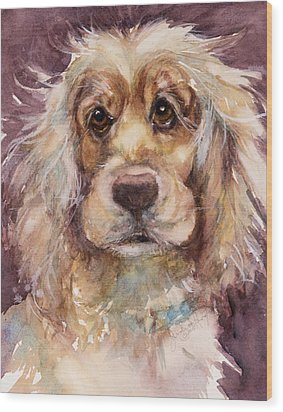 Soft Eyes Wood Print by Judith Levins