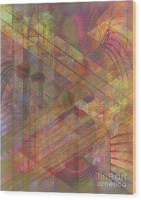 Soft Fantasia Wood Print by John Beck