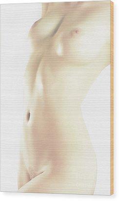 Soft Light Wood Print by Robert WK Clark