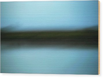 Wood Print featuring the photograph Soft Reflections by Marilyn Hunt